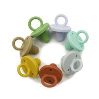 실리콘 베이비 젖꼭지 젖꼭지 식품 학년 BPA 무료 유아용 유아용 유아 잠자는 간호 액세서리