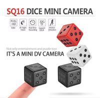 Mini cámara SQ16 Seguridad Dados Motion Video Video Video Videocámara Acción Night Vision Recording Soporte TF Cámaras Cámaras
