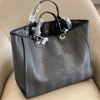 고품질 브랜드 디자인 숙 녀 어깨 크로스 바디 가방 유행 대용량 짠 캔버스 핸드백 가죽 체인 쇼핑 해변 가방