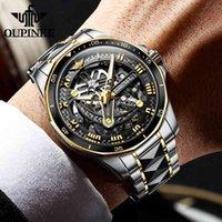 デザイナーの高級ブランドの時計NKEメンメカニカルサファイアガラスの自動リストタングステン鋼50M防水ビジネススポーツES