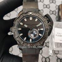 2021 De Alta Qualidade Deep Dive 3203-500le-3 / Preto-OMW Mens automático Assista Todos os Black 43mm Gents Sport Watches Strap 4 Cores
