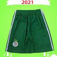 2021 2022 Algerien Fußball Shorts Argelia 21 22 Mahrez Atal Feghouli Slimani Brahimi Home Away White Green Bennacer Männer Kinder Fußballhosen