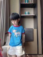 Sommer Kinder Mode Kleidung Set Baby Jungen Mädchen Cartoon Hemd Shorts 2 teile / sets Kinder Infant Casual Kleidung Kleinkind Trainingsanzug