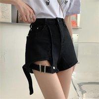 Kadın Şort Surmiitro S-5XL Denim Artı Boyutu Kadınlar 2021 Yaz Kore Tarzı Moda Yüksek Bel Kot Kadın Kısa Pantolon
