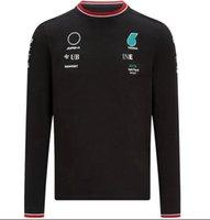 F1 العالم الأول مستوى الفورمولا سيارة علامة الجذع العلوي تي شيرت طويلة الأكمام