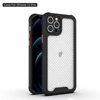 Чехлы для телефонов для iPhone 12 Pro Max 11 XS XR 8 7 Оборудование для выбросов воздуха воздуха воздуха на воздухопроницаемость