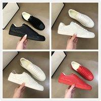 Ace geprägte Herren Mesh Leder Sneaker mit ineinandergreifenden Logo Schuhe Luxurys Designer Italien Marke Trainer Weiße Turnschuhe Stickerei Streifen Freizeitschuh für Männer