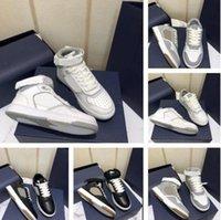 2021 Designer di lusso B27 Scarpe oblique da uomo Donne Donne Alte Top stampate in vera pelle Scarpe da ginnastica Low-Top Lace Up Runner Trainer Stylist Shoe