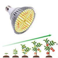 Spectrum complet 20W 184led plante poussculer des ampoules aluminium E27 lampe d'intérieur Veg Cultivo Croissance Hydro Sunlight Phyto DHF8971
