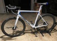 46-49-52-54cm 화이트 블루 T1100 UD 캡터 V3RS 디스크 카본 도로 자전거 완료 자전거 105 R7020 Ultegra R8020 그룹 세트 50mm 디스크 바퀴