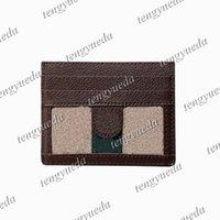 Diseñador de moda Triángulo Mark Tarjeta Titulares de tarjetas de crédito Cuero Pasaporte Pasaporte Cubierta Identificación de negocios Mini bolsillo Viajes para hombres Mujeres Monedero Monedero Driving Bolsas