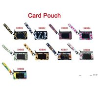 Néoprène ID Card Sac Sunflower Titulaire de carte de crédit PVC Zipper Bracelet Pochette Néoprène Mini Mini Portefeuille Néoprène pour Femmes Femmes FWD10244