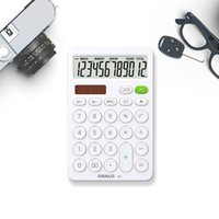 Christmas gift office desk calculator osalo dual power solar calculator school supplies computer