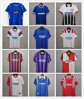 Retro 93 94 Glasgow Rangers Soccer Jerseys 82 83 87 88 90 1992 1994 1995 96 97 99 2000 2002 Kits vintage Gascoigne McCoist Classic Top