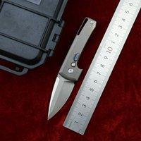 Rocket folding knife M390 blade, titanium handle outdoor camping hunting pocket EDC 535BK 535S 550 940 810 553 551 C81 C10 c240