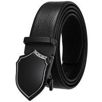 Belts Leather For Men Men's Genuine With Automatic Buckle Width:35mm