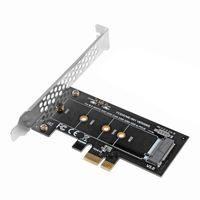 Компьютерные кабели разъемы PCI-E 3,0 x1 до M.2 SSD M ключевой слот преобразователь адаптер и низкопрофильный кронштейн для 2230 2242,2260,2280 NVME Add o