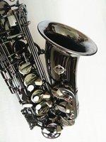 Nouvelle de haute qualité alto saxo-nickel nickel alto saxophone instruments de musique professionnels saxophone ton e sax avec embout libre