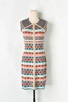 2021sss robes de femme tricotées en gros de grande qualité mince femmes designeurs vêtements vêtements carrouille robe de bureau Chine directe dame jupe