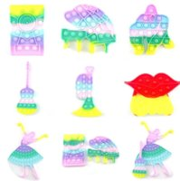 Музыкальные инструменты Didget Push Desktop Toy Toy Puzzle Настольная Декомпрессионная Доска Пальца Пузырь Сенсорные Образовательные Игрушки GYQQQ