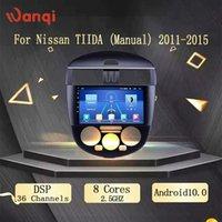 Jugador Android 10.0 WiFi Coche DVD para TIIDA (Manual) 2011-2021 2G + 32G Radio Multimedia Video Navigation GPS DSP AHD