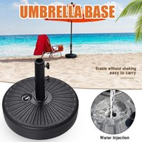 Stein-Regenschirm-Basis-Sonnenschirmharzzement für mittlere Spalte Home Verwendung Produkte #c Gartendekorationen