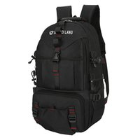 Backpack 40L Laptop Fashion Large Male Waterproof Nylon School Bag For Teenage Boys Men