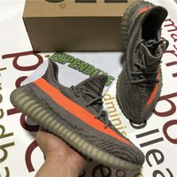En Kaliteli Kanye Erkek Kadın Koşu Ayakkabıları Zebra Küllü Kuyruk Işık 3 M Statik Yansıtıcı Israfil Karbon Ash Inci Erkek Bayan Spor Trainer Sneaker