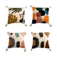 Pillow Case Soft Throw Cover Luxury Style Cushion Tufted Pillowcase For Sofa Car