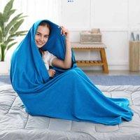 Sleeping Bags Portable Ultra-light Polar Fleece Bag Outdoor Camping Tent Bed Travel Warm Liner Sport Accessories