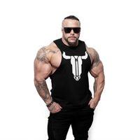 Muscoli da uomo Gym Workout Stringer Tops Bodybuilding Fitness Shirts JSF16