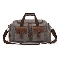 Duffel Bags WeysFor Vogue Mens Tela Viagem Masculino TOte Grande Capacidade Levar em Crossbody Bag durante a noite