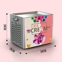 Thai Stir Fry Ice Cream Outils Touche Machine Cuisine Électrique Petit Yaourt Fried Portable Mini Kit