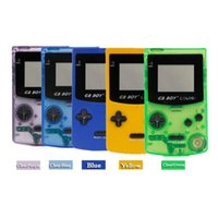 Genuine GB BOY Game Console GBC Highlight Screen Handheld Color Machine Built-in 66 Classic Wonderful Games Portable Players