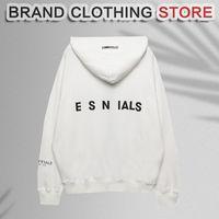 21ss designer brand hoodie winter fog god shoulder high quality street zipper jacket for men and women