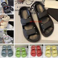 Sandalias femeninas 2021luxury, famosa marca W Omen's Sanda LS, zapatillas para hombres, sandalias planas y caja 35-41