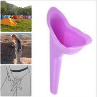 Cajas de almacenamiento contenedores portátil urinario viaje femenino micción dispositivo inodoro mujeres niñas multifunción al aire libre camping senderismo stand ola pis l1