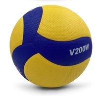 حجم 5 بو ناعمة لمسة الكرة الطائرة مباراة V200W الكرة الطائرة، عالية الجودة كرات الكرة الطائرة في الأماكن المغلقة