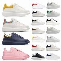 alexander mcqueen mcqueens Moda uomo Donna Velvet Black ShoeAlessandroMcQueen Platform Impuidized Pelle McQueens Casual Shoes Sneaker 36-45 39xg #
