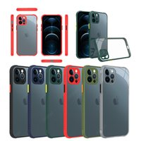 Casos de telefone PC transparente é adequado para o iPhone 12 11 pro máximo xr x xs 6 7 8 mais 6s samsung galaxy s20 s21 s30 A21 A31 A41 A51 A71