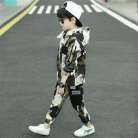 Clothing Sets Boys Spring Autumn Teenager Boy Clothes Kids Casual Sports Suit Children Fashion Tracksuits For 5-13y