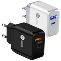 Universal 18w rápido rápido carregamento PD USB C Power adaptador parede carregador de parede para iphone htc lg android phone pc mp3