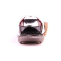 새로운 포장 8148 매직 클립 금속 헤어 클리퍼 전기 면도기 남성 스틸 헤드 면도기 머리카락 트리머 붉은 색