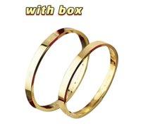 도매 상자가 올바른 로고 나사 스크루 드라이버 디자이너 팔찌 팔찌 망과 여성 파티 커플 연인 선물 럭셔리 쥬얼리