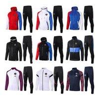 2020 2021 Pariser Hoodie Jacket Suringement 19 20 21 Paris Cavani Mbappe Fußball Jacken Trainingsanzüge Air Jordam X Soccer Trainingsanzug