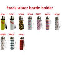 10 Renkler Neopren Drinkware Su Şişesi Tutucu Yalıtımlı Kol Çantası Kılıfı Kılıfı Kupası Kapak 500 ml CYZ3078