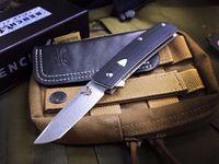 Benchmade BM601 Bolsillo Cuchillo plegable 440C Blade G10 Manija de rescate táctico Pesca de caza Buceo EDC Herramienta de supervivencia A3077