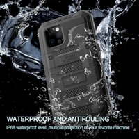 armor waterproof case For Apple iPhone 12 Pro Max cover Metal Coque Fundas shockproof iphone12 Mini phone luxury