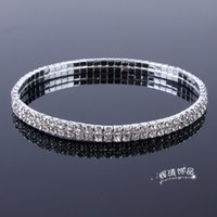 تاوباو اثنين من الصرف الماس مرونة سلسلة القدم مزاجه مجموعة مجوهرات الزفاف