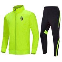 İsveç Koşu Setleri erkek Futbol Eşofman Ceket Futbol Forması Üst Eğitim Gym Takım Elbise Açık Spor Jogging Giyim